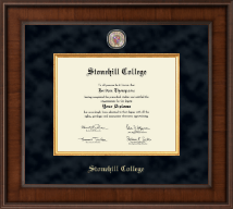Stonehill College Diploma Frame - Presidential Masterpiece Diploma Frame in Madison