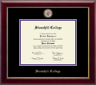Stonehill College Diploma Frame - Masterpiece Medallion Diploma Frame in Gallery