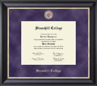 Stonehill College Diploma Frame - Regal Edition Diploma Frame in Noir