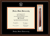 Idaho State University Diploma Frame - Tassel Edition Diploma Frame in Delta