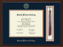 South Plains College Diploma Frame - Tassel Edition Diploma Frame in Delta