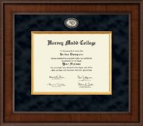 Harvey Mudd College Diploma Frame - Presidential Masterpiece Diploma Frame in Madison
