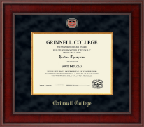 Grinnell College Diploma Frame - Presidential Masterpiece Diploma Frame in Jefferson