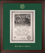 Miss Porter's School Diploma Frame - Gold Embossed Diploma Frame in Studio