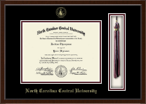 North Carolina Central University Diploma Frame - Tassel Edition Diploma Frame in Delta