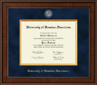 University of Houston Downtown Diploma Frame - Presidential Masterpiece Diploma Frame in Madison