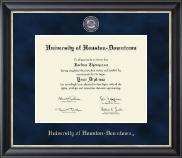 University of Houston Downtown Diploma Frame - Regal Edition Diploma Frame in Noir