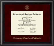 University of Southern California Diploma Frame - Gold Embossed Diploma Frame in Midnight
