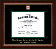 Washington University in St. Louis Diploma Frame - Masterpiece Medallion Diploma Frame in Murano