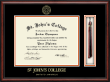 St. John's College-Annapolis Diploma Frame - Tassel Edition Diploma Frame in Southport