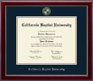 California Baptist University Diploma Frame - Gold Embossed Diploma Frame in Gallery