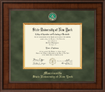 SUNY Morrisville Diploma Frame - Presidential Masterpiece Diploma Frame in Madison