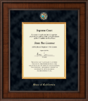 State of California Certificate Frame - Presidential Masterpiece Certificate Frame in Madison