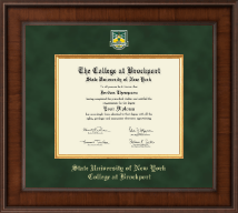 The State University of New York College at Brockport Diploma Frame - Presidential Masterpiece Diploma Frame in Madison