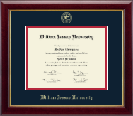 William Jessup University Diploma Frame - Gold Embossed Diploma Frame in Gallery