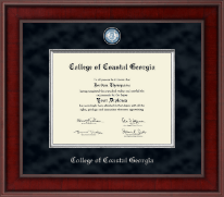 College of Coastal Georgia Diploma Frame - Presidential Masterpiece Diploma Frame in Jefferson