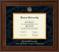 Rowan University Diploma Frame - Presidential Masterpiece Diploma Frame in Madison