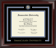 Immaculata University Showcase Edition Diploma Frame in Encore