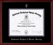 Silver Embossed Diploma Frame in Camby
