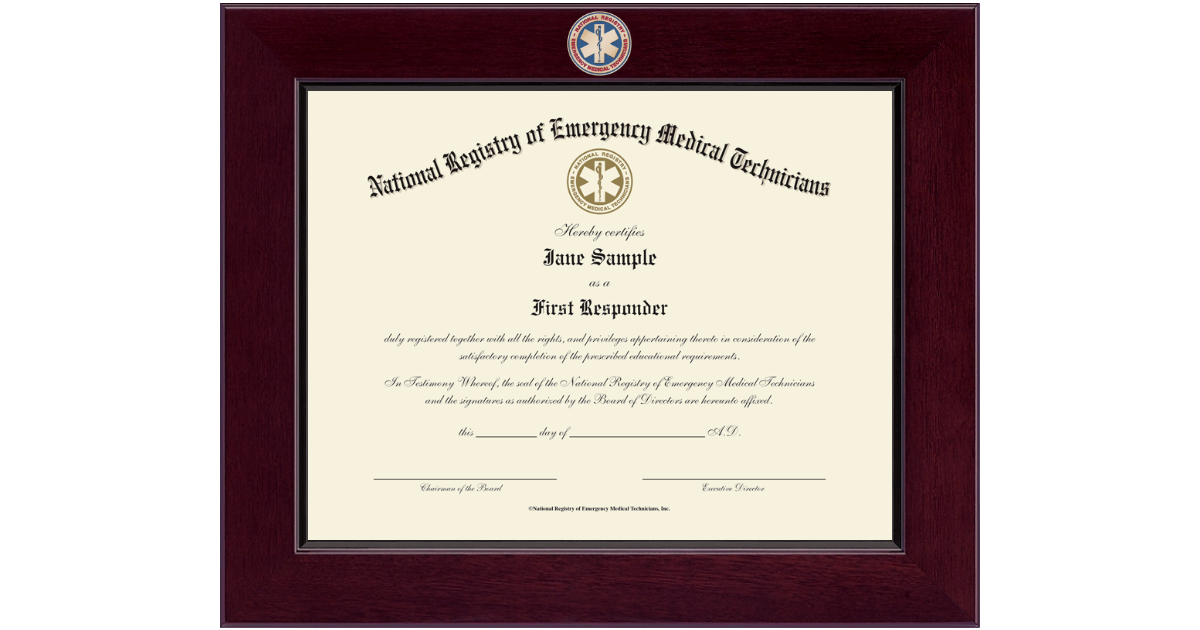 National Registry Of Emergency Medical Technicians Century