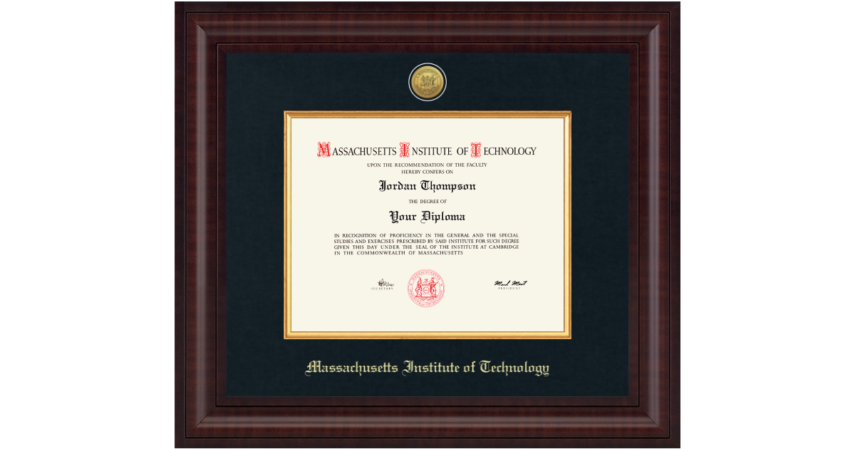 Massachusetts Institute Of Technology Presidential Gold