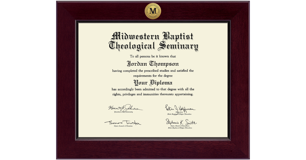 Midwestern Baptist Theological Seminary Century Gold
