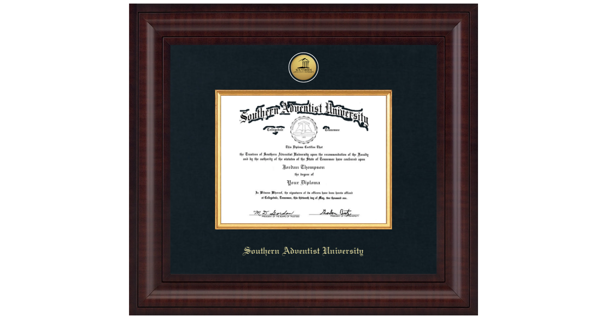 Southern Adventist University Presidential Gold Engraved