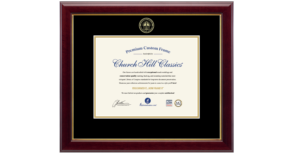 Magna Laude Diploma Frames and Gifts Gold Embossed Magna ... on