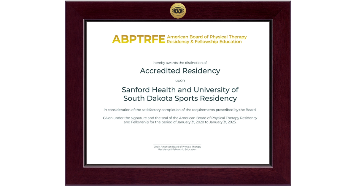 American Board Of Physical Therapy Residency Amp Fellowship