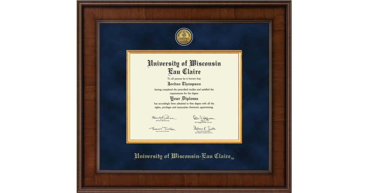 University Of Wisconsin Eau Claire Presidential Gold