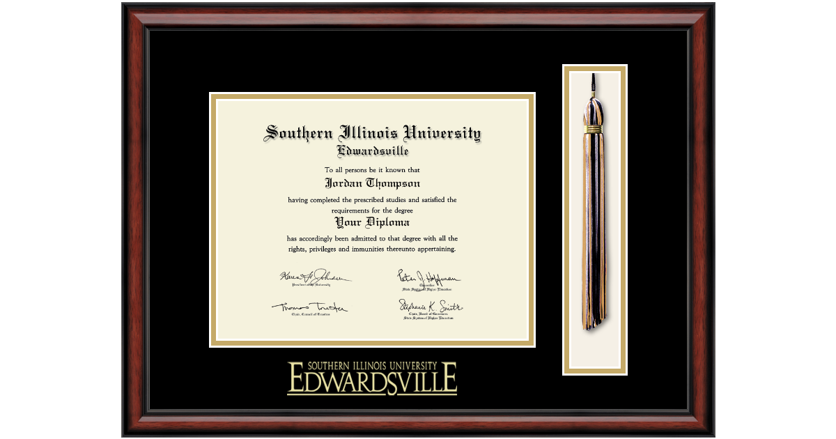 Southern Illinois University At Edwardsville Tassel