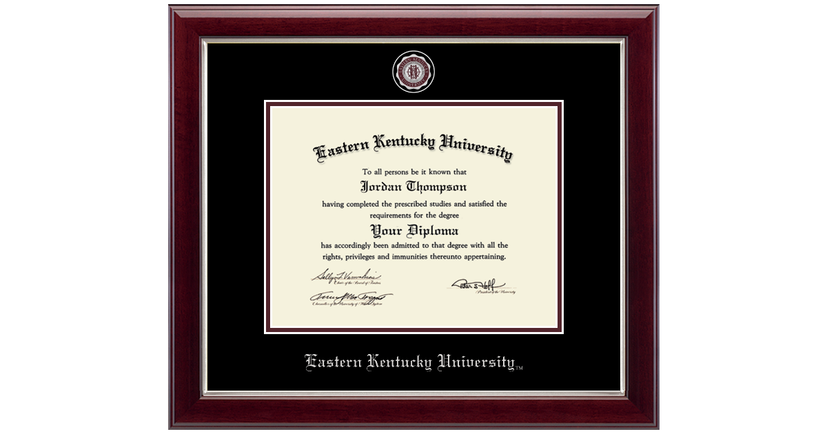 Eastern Kentucky University Masterpiece Medallion Diploma