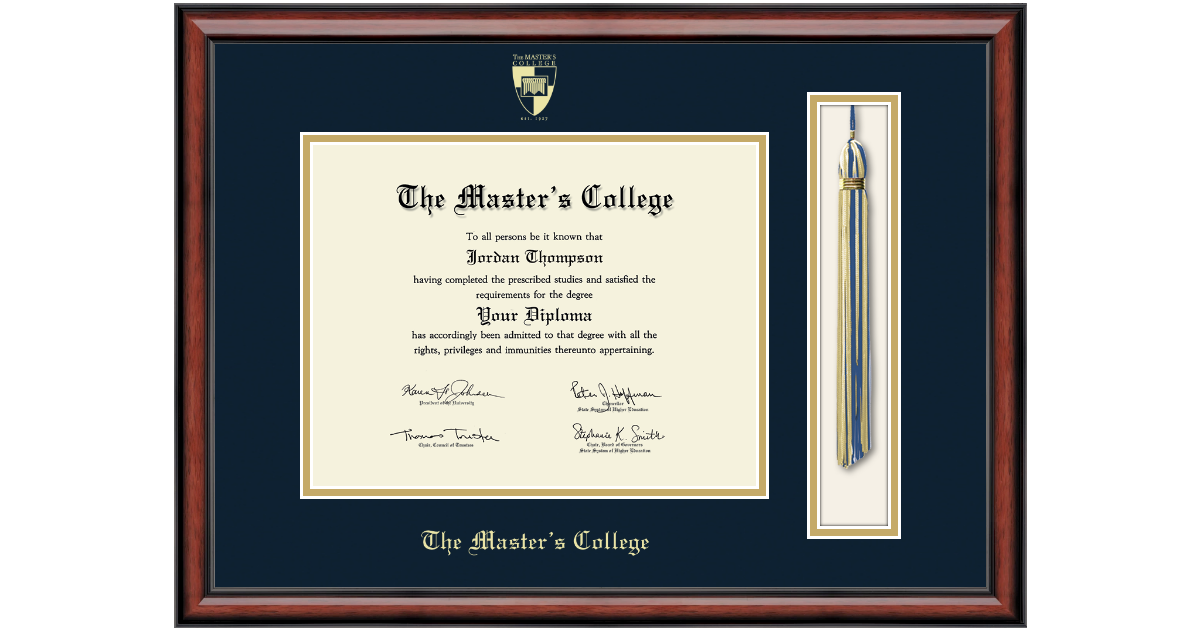 The Master S College Tassel Edition Diploma Frame In