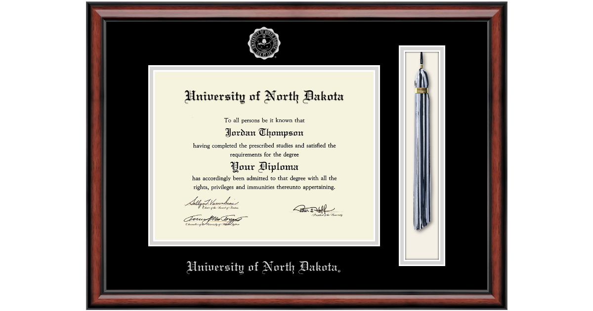 University of North Dakota Tassel Edition Diploma Frame in Southport ...